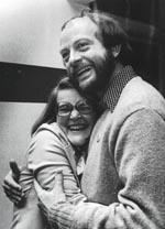 Victory Hug After Winning 1976 Primary
