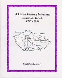 Czech Family Heritage Book Cover & Link