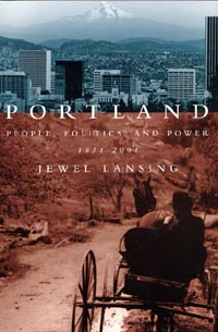 Portland People Politics & Power Book Cover & Link